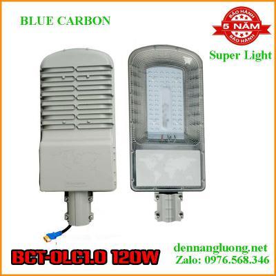 Đèn Đường Năng Lượng Mặt Trời Blue Carbon BCT-OLC1.0 120W Bảo Hành 5 Năm