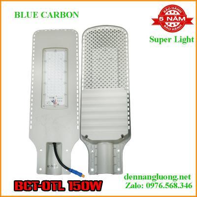 Đèn Đường Năng Lượng Mặt Trời Blue Carbon BCT-OTL 150W Bảo Hành 5 Năm