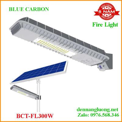 Đèn Đường năng lượng Mặt Trời Blue Carbon Fire Light FL 300W