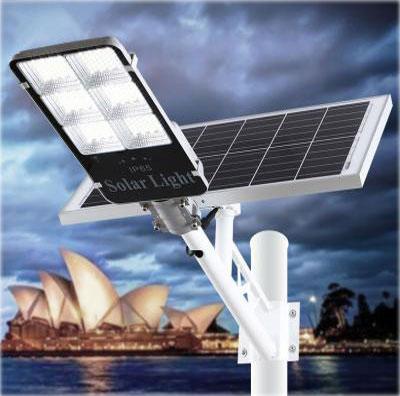 Đèn đường năng lượng mặt trời DC 300W