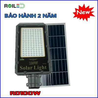 Đèn đường năng lượng Roiled RD100W mẫu mới