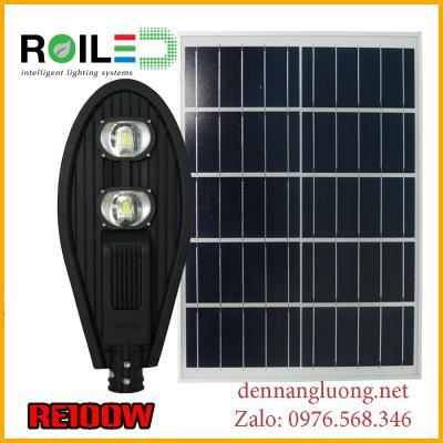 Đèn đường Roiled RE100W năng lượng mặt trời