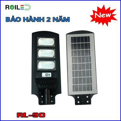 Đèn đường Roiled RL90W| pin liền thể