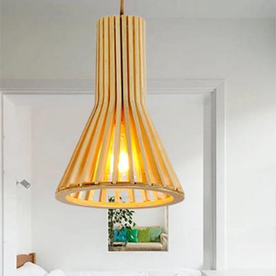 Đèn gỗ trang trí RLT61065