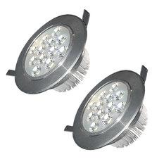 Đèn LED âm trần chiếu rọi bộ 2 cái Gnesco 12W ( sáng trắng)