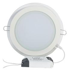 Đèn led âm trần décor viền kính 12W TTPK02 (Trắng)
