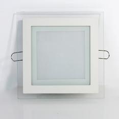 Đèn led âm trần viền kính vuông 12W - TTP-KV02(Trắng)