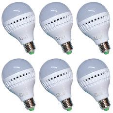 Đèn LED búp tiết kiệm điện 9W Gnesco bộ 6 cái (sáng trắng)