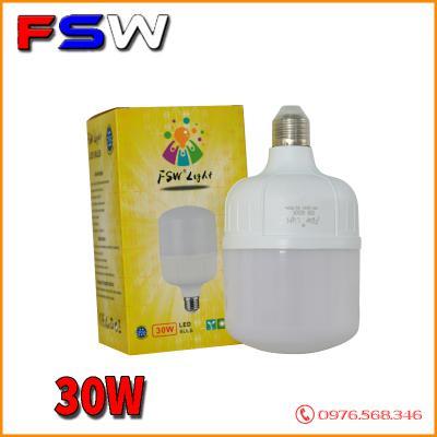 Đèn led FSW 30W| bóng búp E27