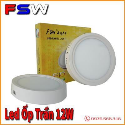Đèn led ốp trần FSW 12W giá tốt