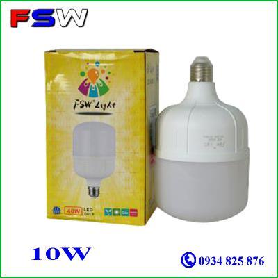 Đèn Led Trụ FSW 10W Siêu  Sáng Giá Rẻ