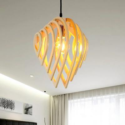 Đèn lồng gỗ trang trí RLT61006
