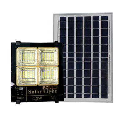 Đèn năng lượng mặt trời ánh sáng vàng, trắng, trung tính 30W Roiled - BM30W