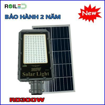 Đèn năng lượng Roiled RD300W| Tấm pin rời