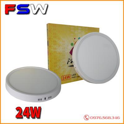 Đèn ốp trần FSW 24W tròn| 2 chế độ sáng