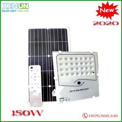 Đèn Pha 150W kết hợp Camera | năng lượng mặt trời