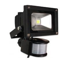Đèn pha led cảm ứng chống trộm Duxa PSLed 30W (Đen)