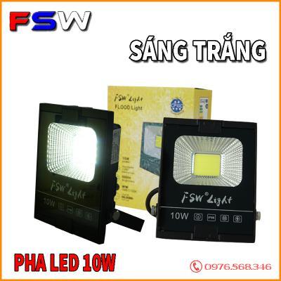 Đèn pha led FSW 10W ánh sáng trắng