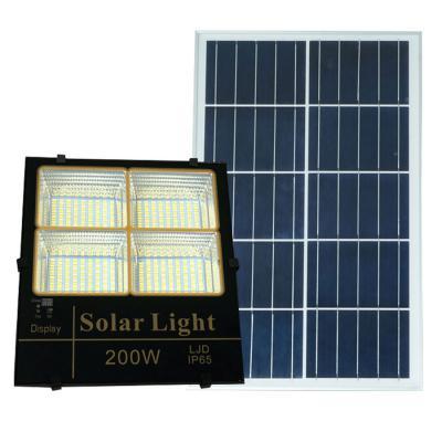 Đèn pha năng lượng mặt trời ánh sáng vàng, trắng, trung tính 200W Roield - BM200W
