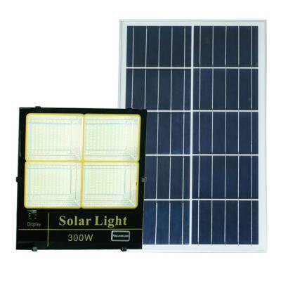 Đèn pha năng lượng mặt trời ánh sáng vàng, trắng, trung tính 300W Roiled - BM300W
