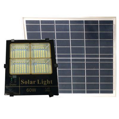 Đèn pha năng lượng mặt trời ánh sáng vàng, trắng, trung tính 60W Roiled - BM60W