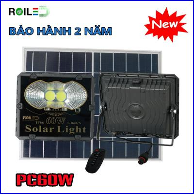 Đèn pha năng lượng Roiled PC60W siêu rẻ