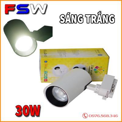 Đèn rọi gắn ray FSW 30W| ánh sáng trắng