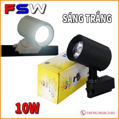 Đèn rọi thanh ray FSW 10W| ánh sáng vàng
