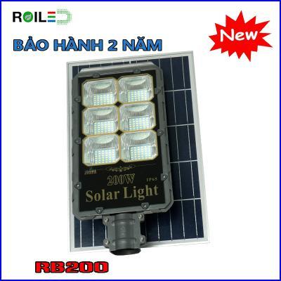 Đèn Roiled RB200W tấm pin rời| Bảo hành 2 năm