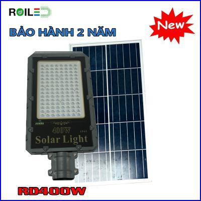 Đèn Roiled RD400W cao cấp| đèn đường NMLT pin rời