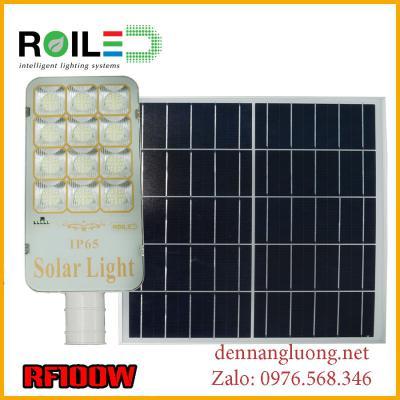 Đèn Roiled RF100W năng lượng mặt trời