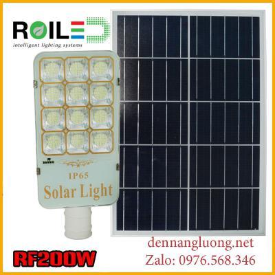 Đèn Roiled RF200W năng lượng mặt trời