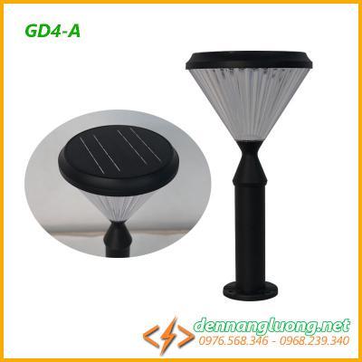 Đèn sân vườn GD4-A| kiểu dáng đẹp| năng lượng mặt trời