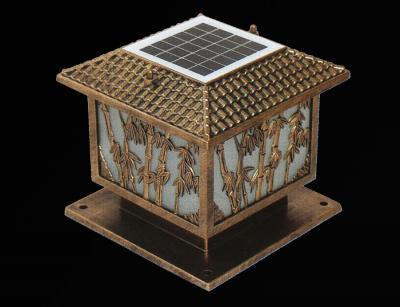 Đèn trụ cổng năng lượng mặt trời LT3004
