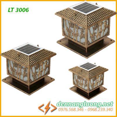 Đèn trụ cổng năng lượng mặt trời LT3006