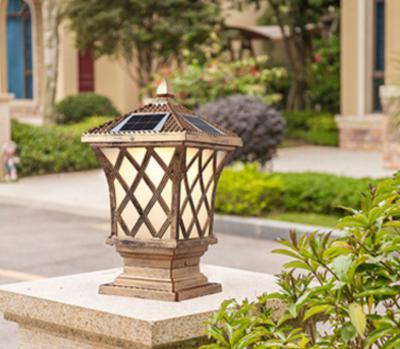 Đèn trụ cổng năng lượng mặt trời LT3014