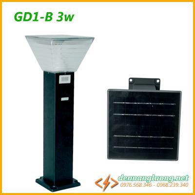 Đèn trụ sân vườn GD1-B 3W | năng lượng mặt trời | kiểu dáng mới
