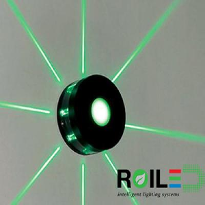 Đèn tường Led ngoài trời RLNT0400-9W/8