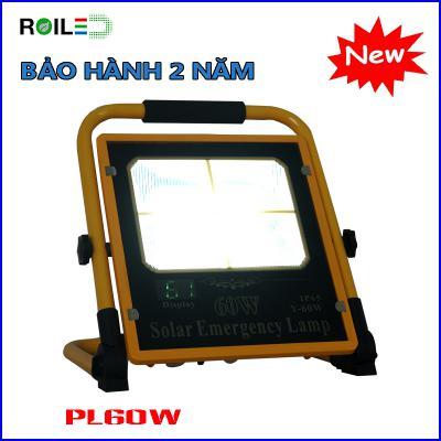 Đèn xách tay Roiled PL60W| năng lượng mặt trời