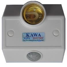Đui đèn cảm ứng Kawa SS681 (Trắng)