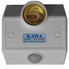 Đui đèn cảm ứng Kawa SS68B (Trắng)