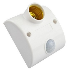 Đuôi đèn cảm ứng tự bật khi có chuyển động