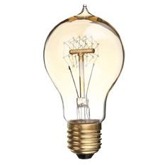E27 A19 40W Edison Vintage Filamnet Glühbirne Lampe Licht Nostalgie Retro 110V (Intl)
