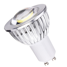 Gu10 5630SMD 6W Pure White LENS Light LED Spot Bulb 220V (Intl)