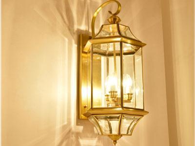 Đèn Đồng Gắn Vách HF6008-L