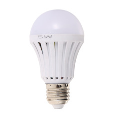 White LED Bulb Rechargeable Emergency Light (Intl)