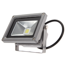 White Power LED Flood Wash Light Projection Lamp 10W Aluminum 800LM (Intl)