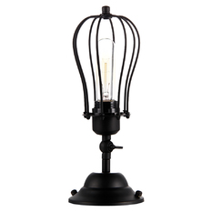 wrought iron balcony lamp attic europe North American ladder retro vintage (Intl)