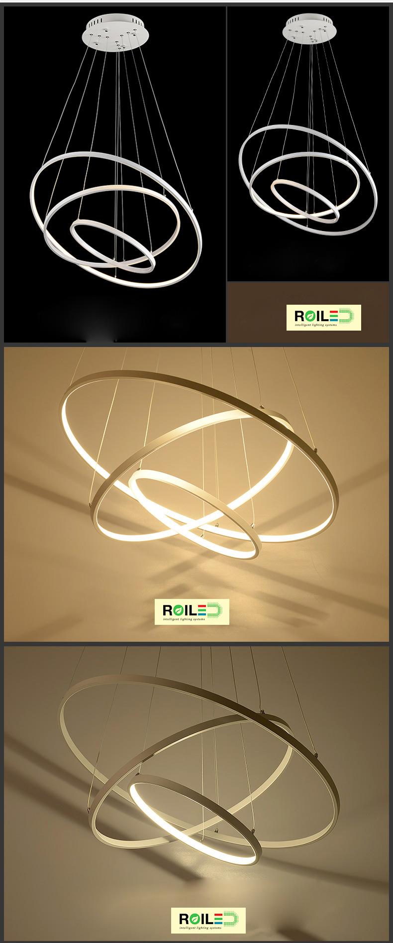 Đèn trang trí treo Acrylic RTH1650-3
