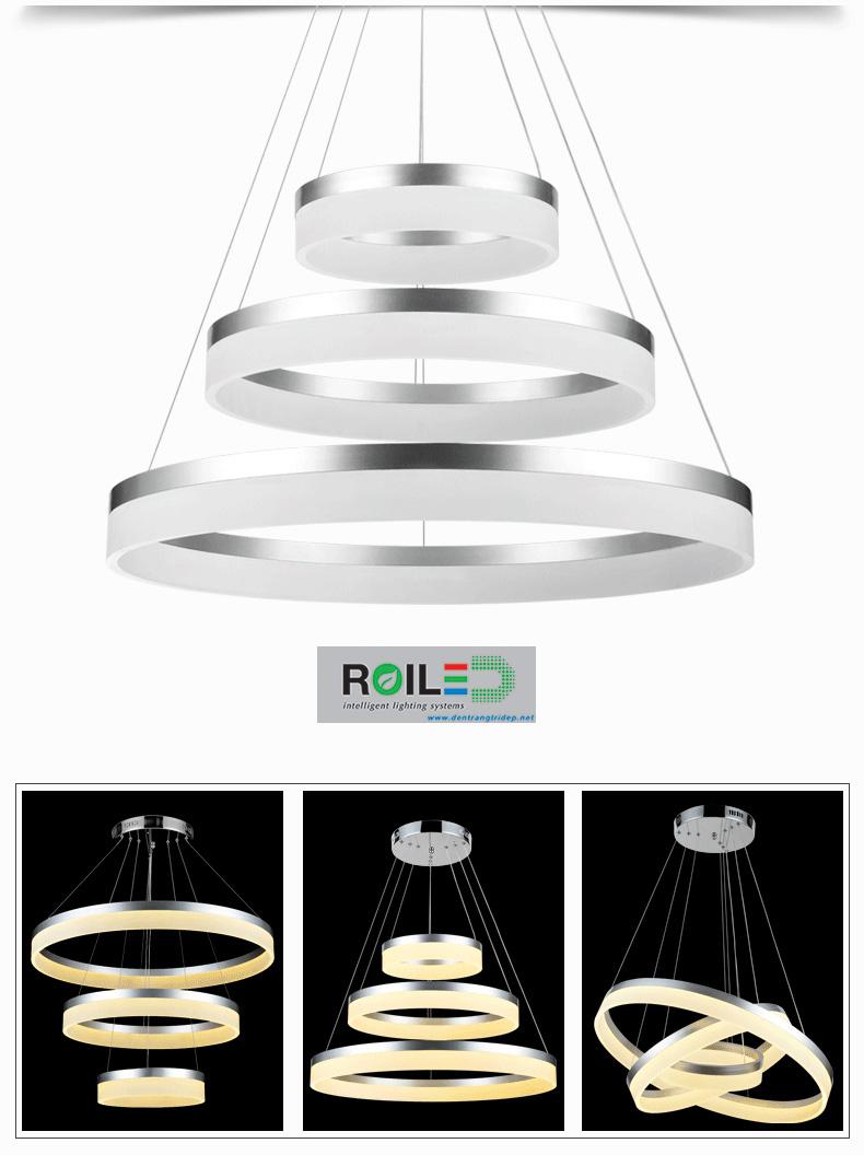 Đèn trang trí Acrylic treo RRH1710-3
